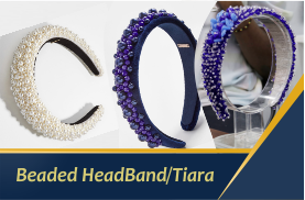Beaded Headband-Tiara